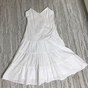Michael Kors White Long Dress Size 6